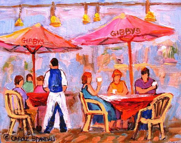 Painting - Gibbys Cafe by Carole Spandau