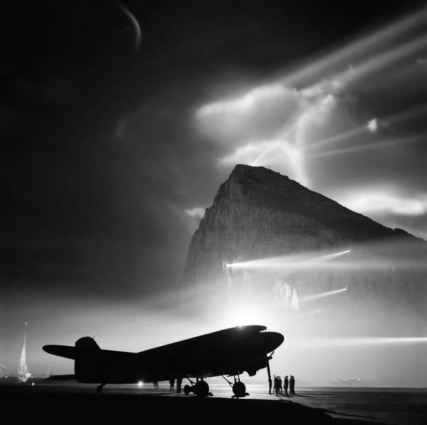 Superfortress Photograph - Gibraltar World War 2 by Daniel Hagerman