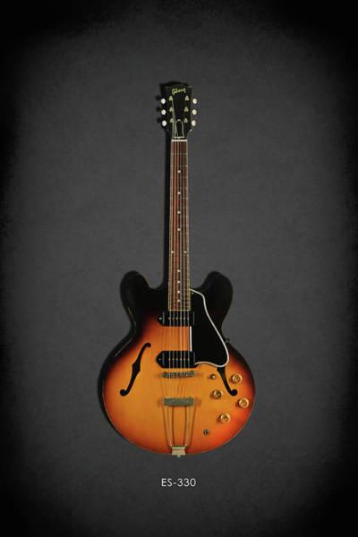 Fender Photograph - Gibson Es-330 by Mark Rogan