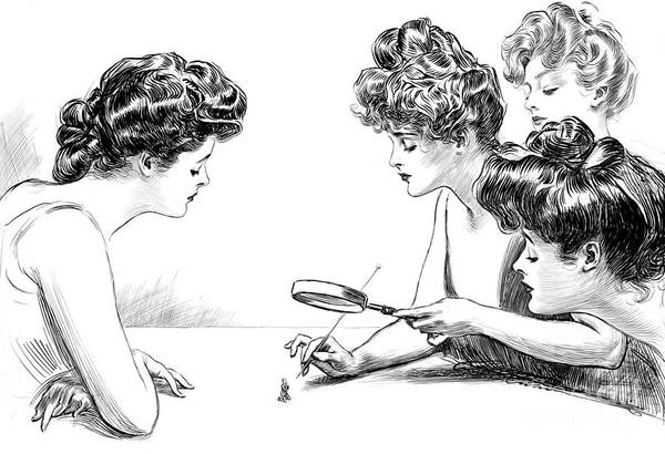 Photograph - Gibson Girls 1904 by Science Source