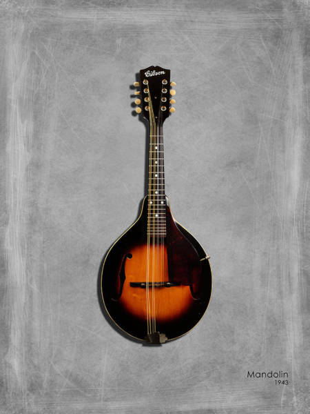 Stratocaster Photograph - Gibson Mandolin 43 by Mark Rogan
