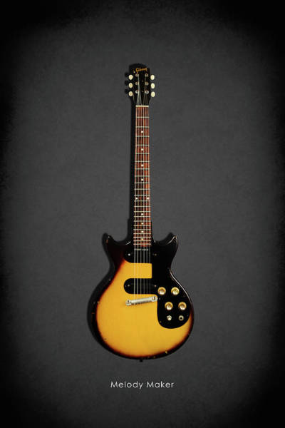 Wall Art - Photograph - Gibson Melody Maker 1962 by Mark Rogan