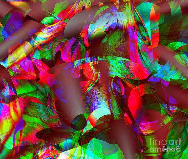 Description Digital Art - Gift At Night And Joy In The Morning by Fania Simon