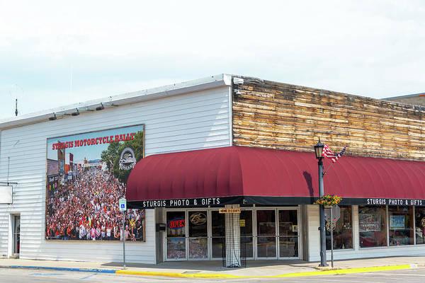 Sturgis Wall Art - Photograph - Gift Shop In Sturgis, South Dakota by Jess Kraft