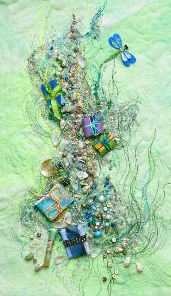 Tapestry - Textile - Gifts From The Sea by Pat Dolan