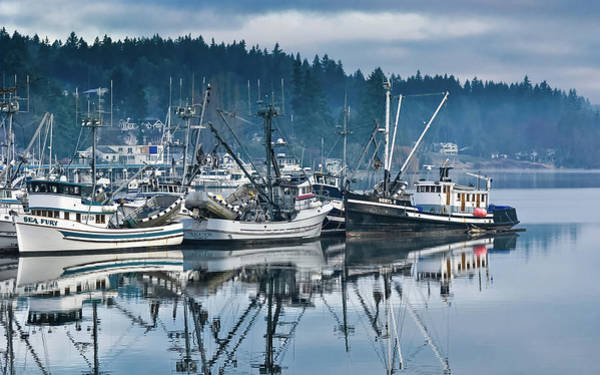 Wall Art - Photograph - Gig Harbor Fishing Boats by Joseph Smith