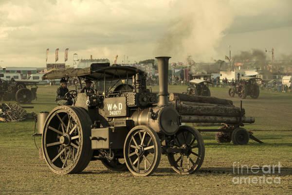 Fair Ground Photograph - Gigantic Steam  by Rob Hawkins