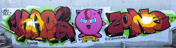 Pokemon Wall Art - Photograph - Giglipaf Graffiti by Stephen Stookey