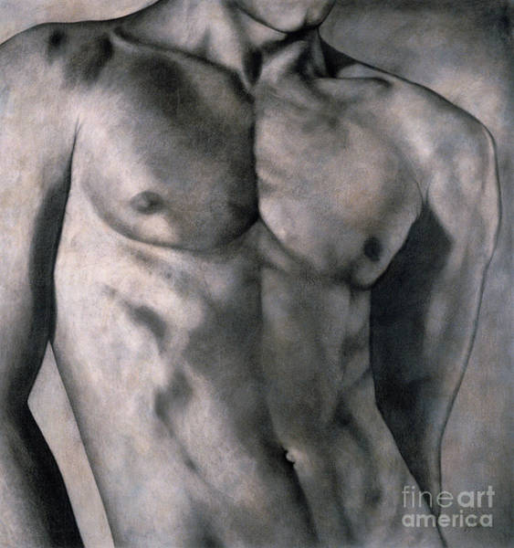 Masculine Painting - Gigolo by Lawrence Supino