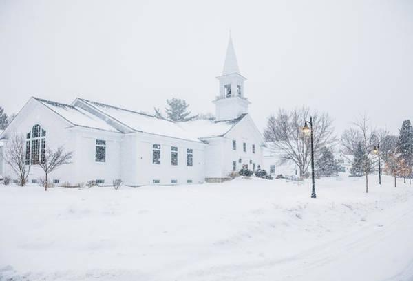 Photograph - Gilford Community Church by Robert Clifford