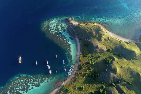 Photograph - Gili Lawa Island From Above by Pradeep Raja PRINTS