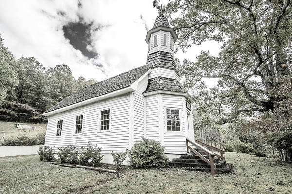 Photograph - Gillespie Chapel by Andy Crawford
