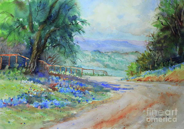 Central Texas Painting - Gillespie County Spring by Marsha Reeves