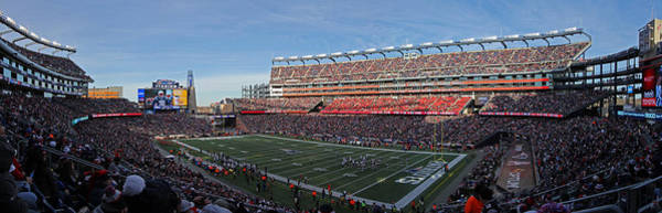 Photograph - Gillette Stadium Panorama by Juergen Roth
