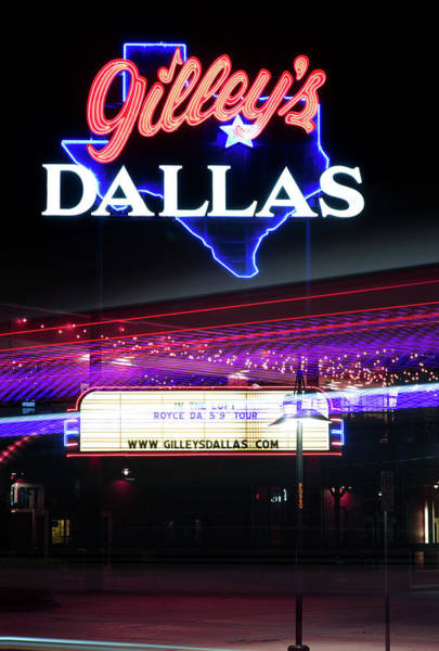 Photograph - Gilley's Dallas V3 by Rospotte Photography