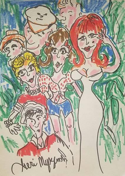 Gilligan's Island   Art Print