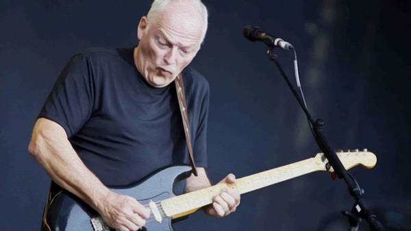 David Gilmour Painting - Gilmour #003 By Nixo by Never Say Never