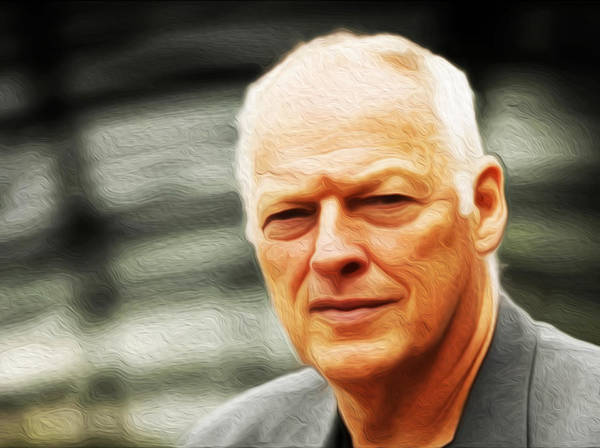 David Gilmour Painting - Gilmour #103 By Nixo by Never Say Never