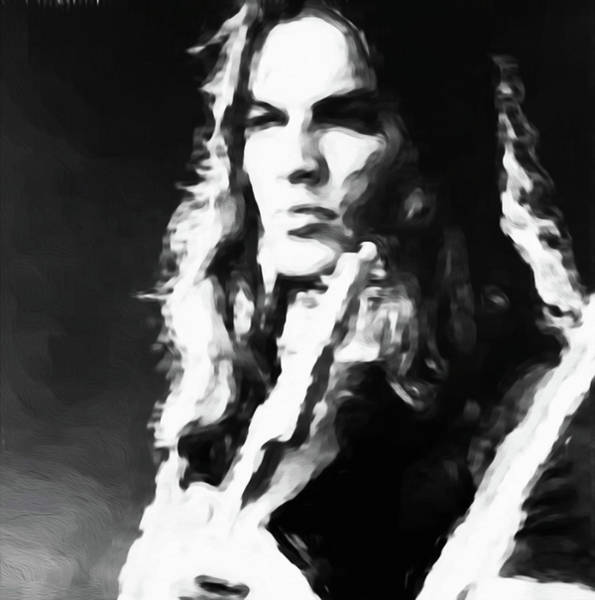David Gilmour Painting - Gilmour #343 By Nixo by Never Say Never