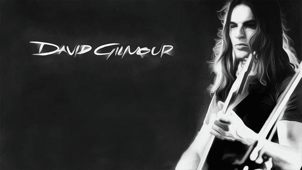 David Gilmour Painting - Gilmour 43 Nixo by Never Say Never