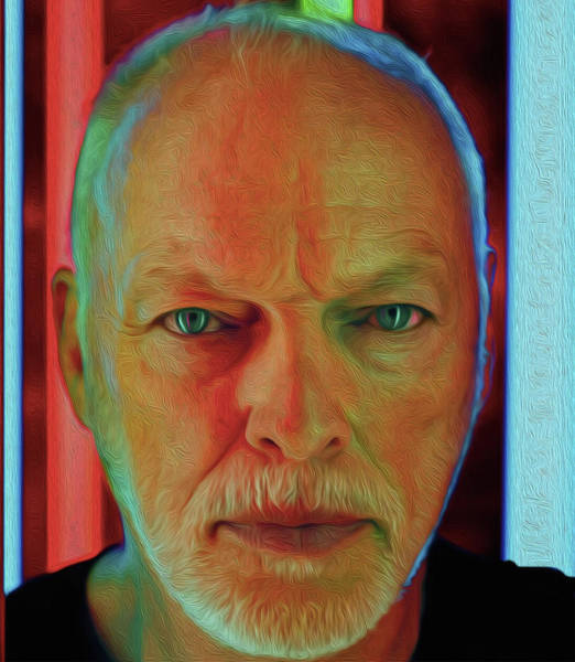 David Gilmour Painting - Gilmour Nixo by Never Say Never