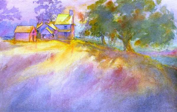 Brandywine Wall Art - Painting - Gilpin House, No. 1 by Virgil Carter