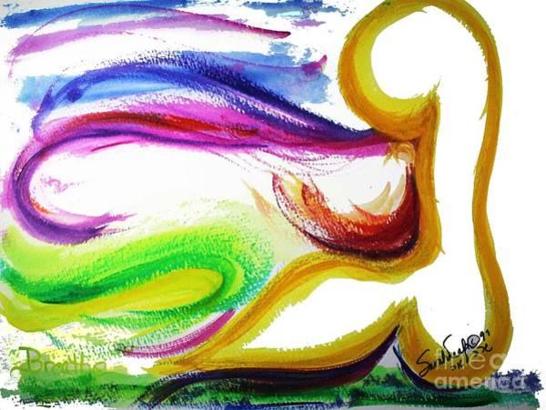 Gimel - Breathe Art Print