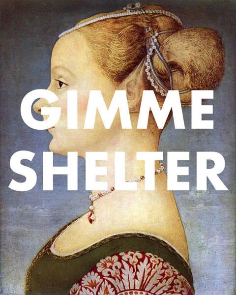 Digital Art - Gimme Shelter Art Print by Georgia Fowler