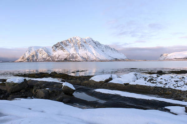 Photograph - Gimsoy Beach, Lofoten by Dubi Roman