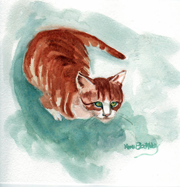Painting - Ginger Boy 2 by Mimi Boothby