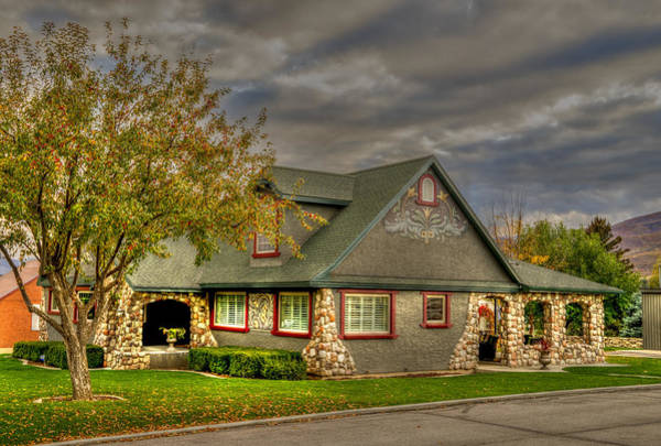 Photograph - Gingerbread House by TL  Mair