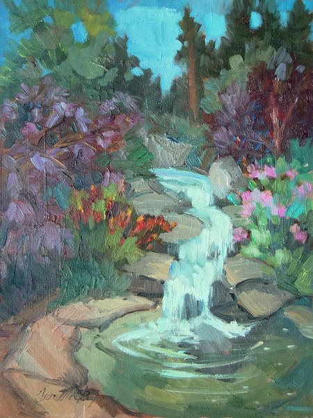 Wall Art - Painting - Gioeli Gardens by Diane McClary