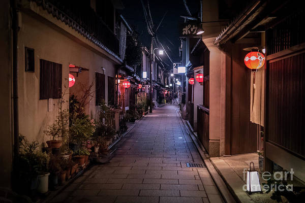 Photograph - Gion Streets, Old Kyoto, Japan by Perry Rodriguez
