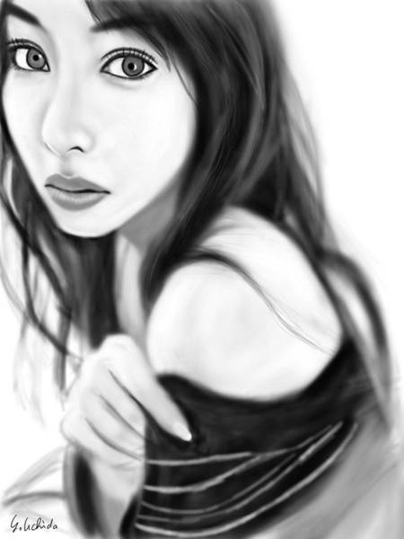 Painting - Gir No.223 by Yoshiyuki Uchida