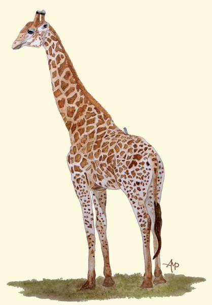 Painting - Giraffe by Angeles M Pomata