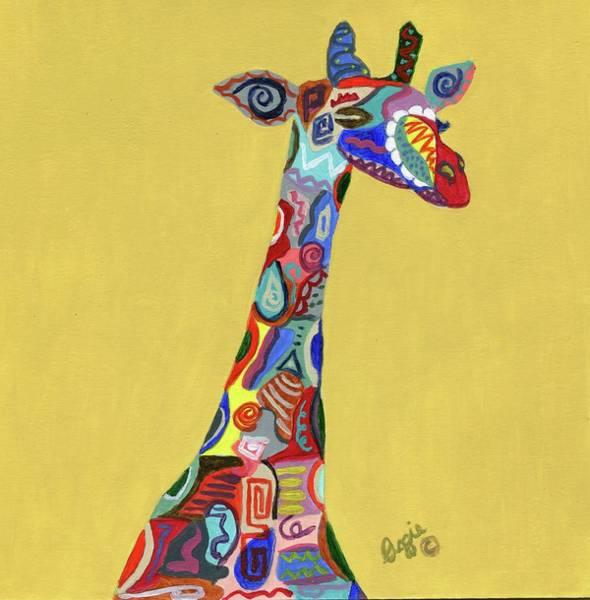 Painting - Giraffe Attitude by Stephanie Agliano