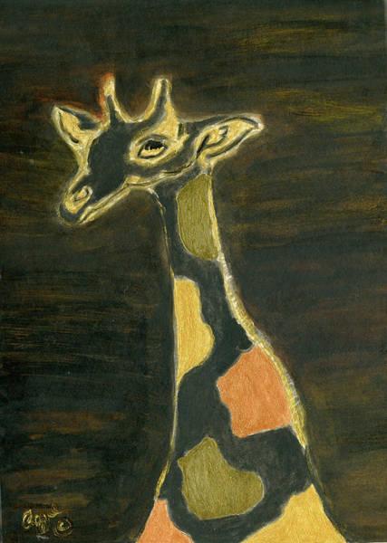Painting - Giraffe Metallica by Stephanie Agliano