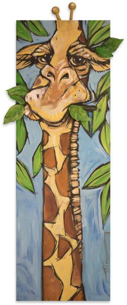 Painting - Giraffe by Tim Nyberg