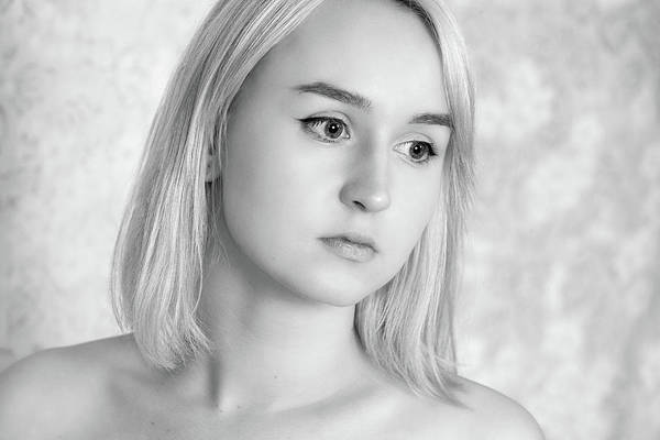 Photograph - Girl #7259 by Andrey Godyaykin
