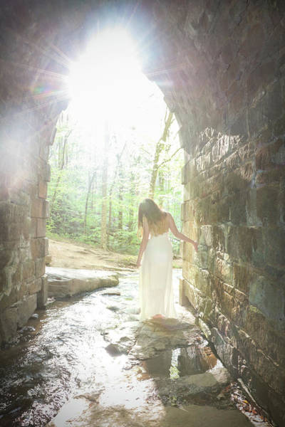 Photograph - Girl By The Stream by Kelly Hazel