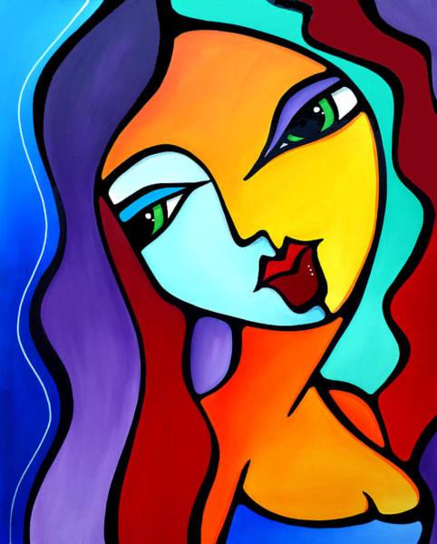 Wall Art - Painting - Girl Like You by Tom Fedro - Fidostudio