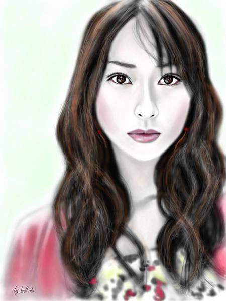 Painting - Girl No.184 by Yoshiyuki Uchida