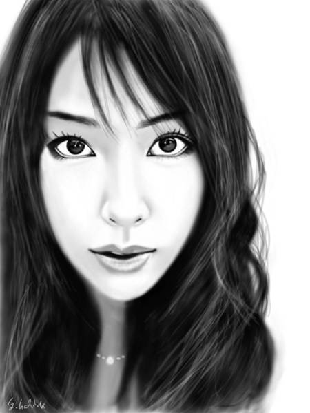Painting - Girl No.231 by Yoshiyuki Uchida