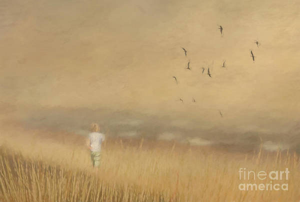 Photograph - Girl On The Beach by Pam  Holdsworth