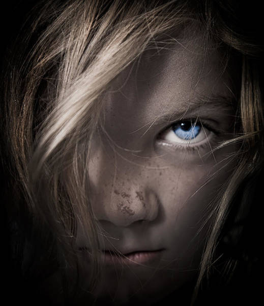 Blonde Photograph - Girl by Paul Neville