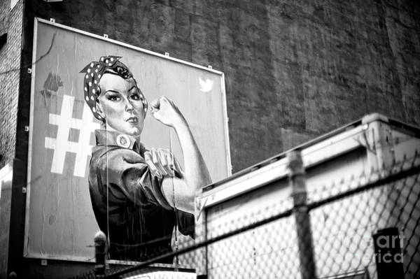 Girl Power New York City Art Print by John Rizzuto