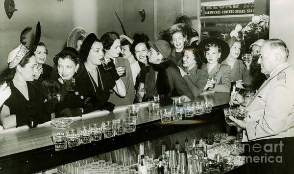 1920s Photograph - Girls Night Out by Jon Neidert