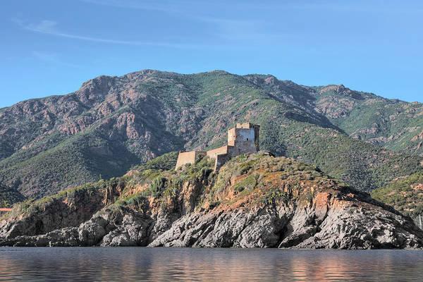Grottos Photograph - Girolata La Scandola - Corsica by Joana Kruse