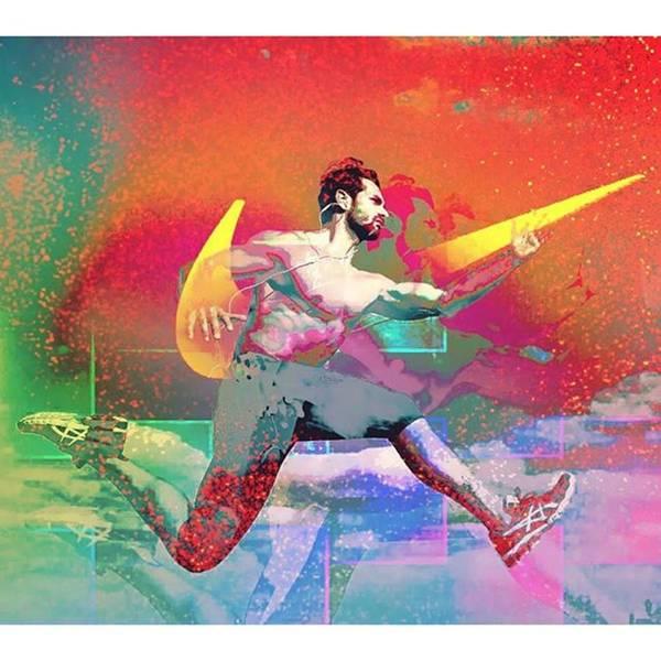 Super Sport Wall Art - Photograph - @giuseppe_la_spina @nike by Vero psicopatico Pindinello