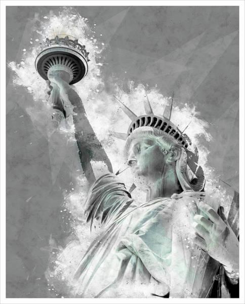Wall Art - Mixed Media - Give Me Liberty  by Melissa Smith